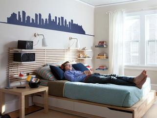 Diversão e criatividade no espaço de dormir