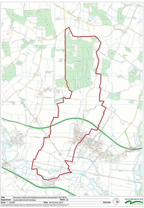 Ailsworth Map