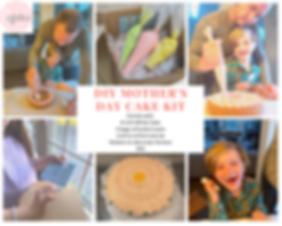 DIY Mother's Day Cake Kit