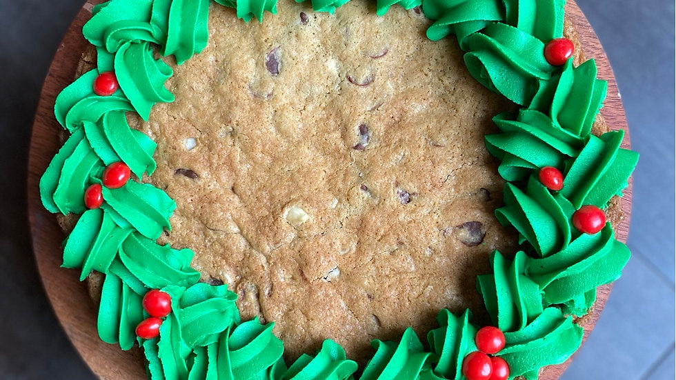 "8"" Wreath Cookie Cake"