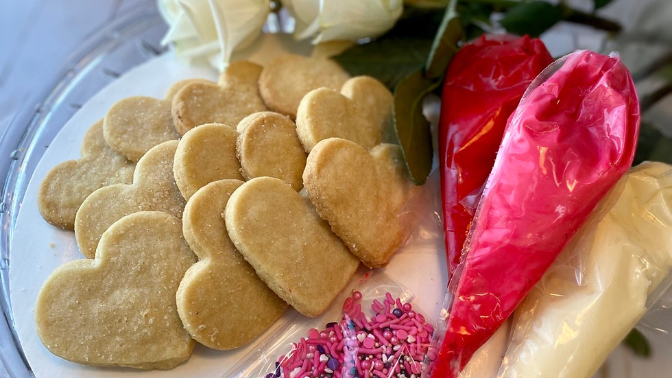 DIY Valentine's Day Cookie Kit