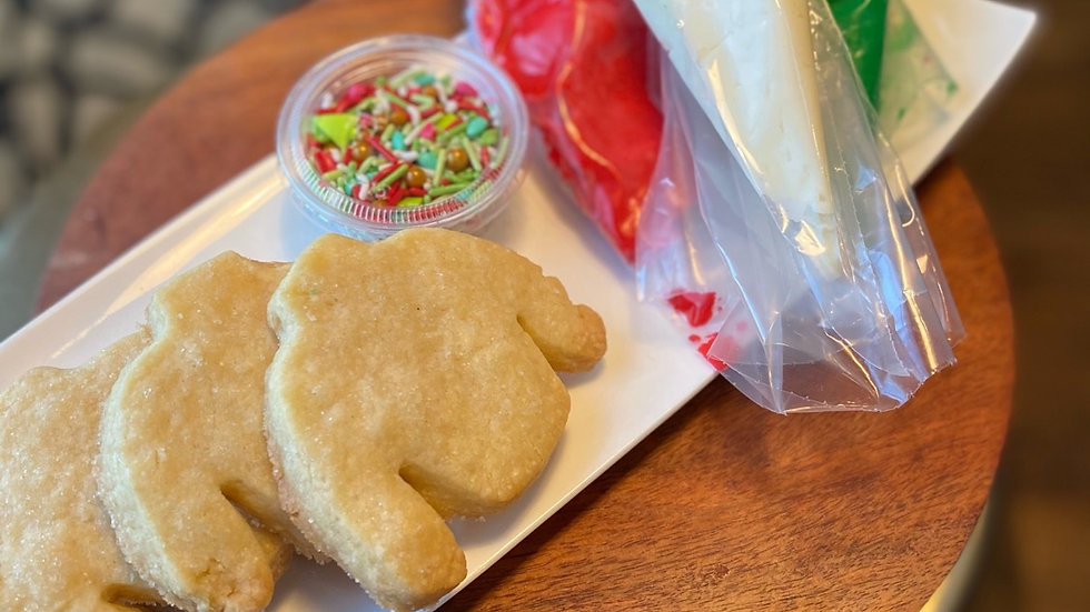 DIY Ugly Sweater Cookie Kit