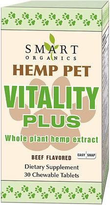 Hemp Pet Vitality Plus Easy Snap Tablets