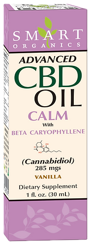 Advanced CBD Oil Calm with Beta Caryophyllene