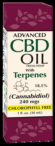 CBD with Terpenes 240 mg