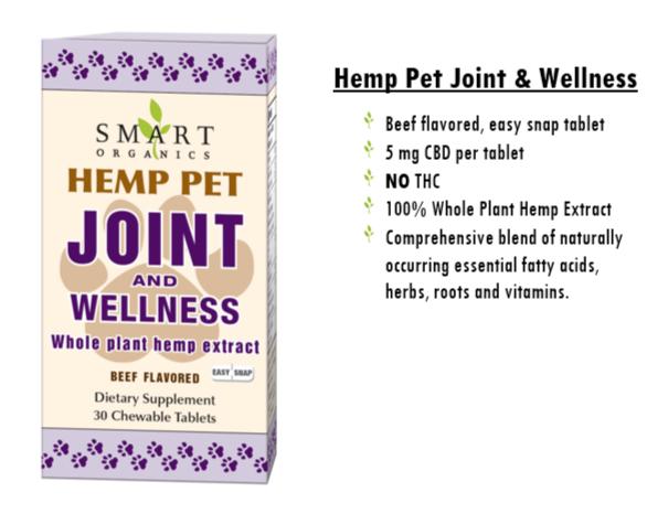 Hemp Pet Joint & Wellness