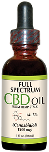 Full Spectrum CBD Oil from Hemp Stalk 12