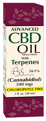 CBD Oil with Terpenes 240mgs