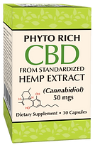 Phyto Rich CBD from Hemp Extract 50 mgs