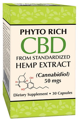 Phyto Rich CBD Veggie Capsules