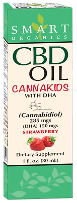 CBD Oil CANNAKIDS with DHA