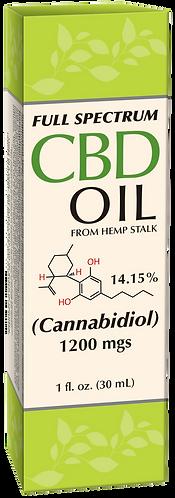 CBD Hemp Oil 1200 mg Full Spectrum
