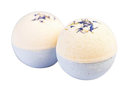 Ylang Ylang, Rose & Lavender Bath Bombs - Box of 2