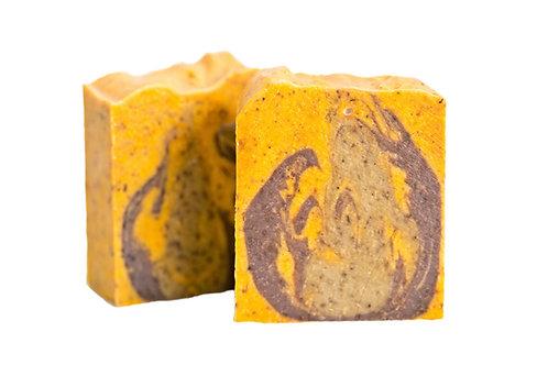 Sandalwood & Citrus Scrub Soap - Box of 5