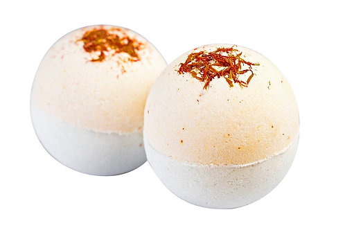 Sweet Lime & Mandarin Bath Bombs - Box of 2
