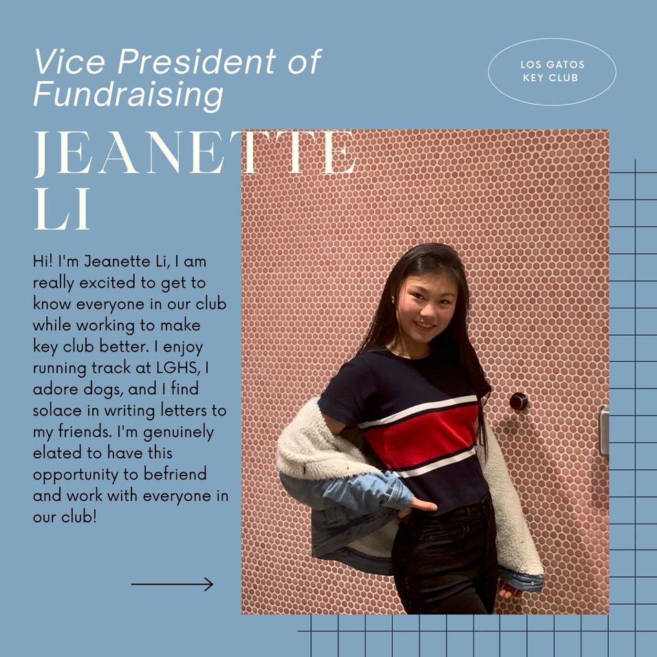 Jeanette Li