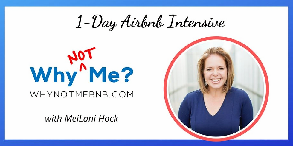 1-Day AirBnB Intensive - Cary, NC (In person) Saturday