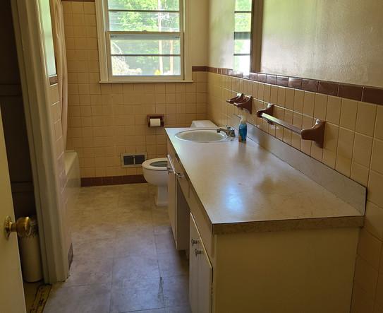 Before - Hall Bath