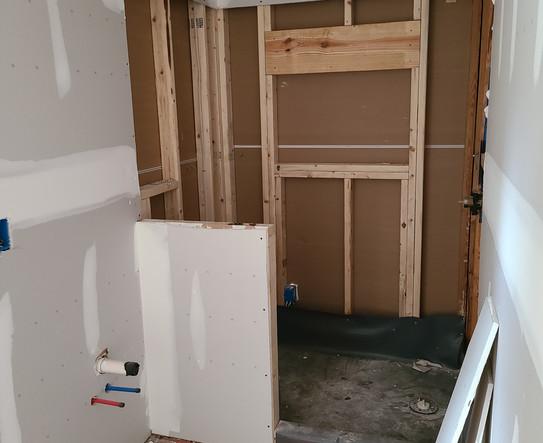 Drywall - Master Shower