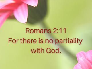 """Wednesday, March 3: """"Impartial God"""""""