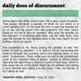 June 15, 2021: DAILY DOSE OF DISCERNMENT