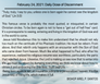 February 24, 2021: Daily Dose of Discerment