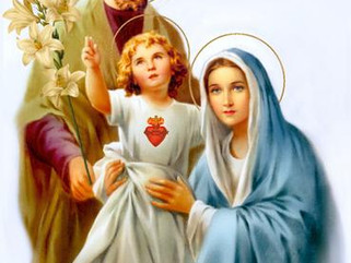 First Sunday After Christmas Day: Feast of the Holy Family