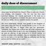 June 13, 2021: DAILY DOSE OF DISCERNMENT