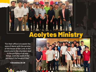 TRUE SERVANTS: ACOLYTES MINISTRY
