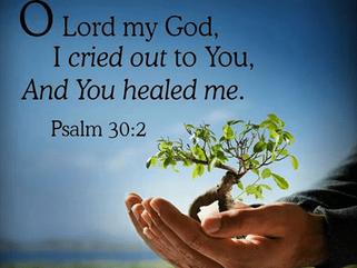 """God's power healed me..."""