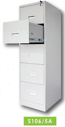 5 Drawers Filing Cabinet