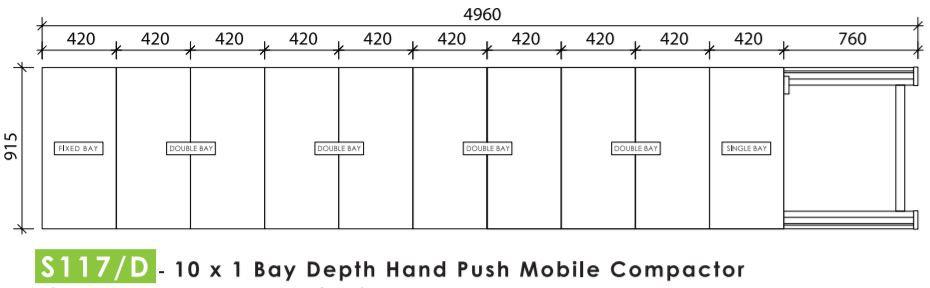 10 Bays Mobile Compactor