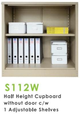 Half Height Without Door Cupboard