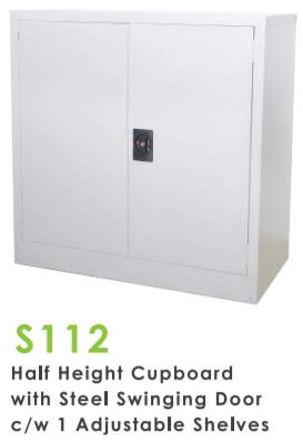 Half Height Swing Door Cupboard