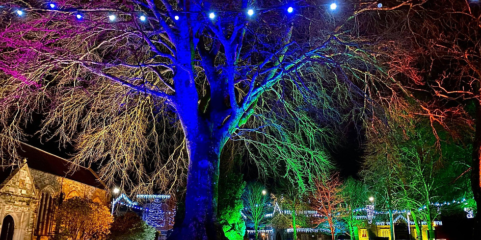 Tavistock Christmas Light Switch-On