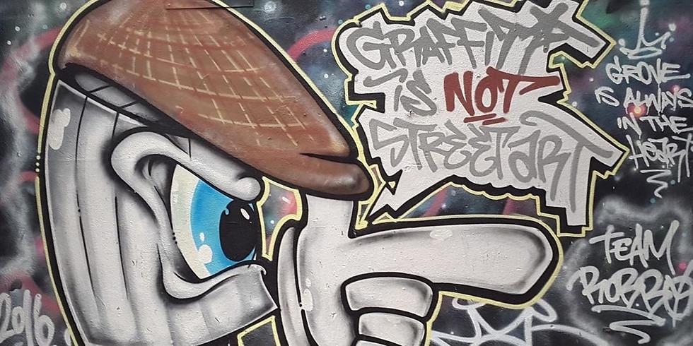 Spray It Out: Banksy & Beyond A talk by Niki Natarajan