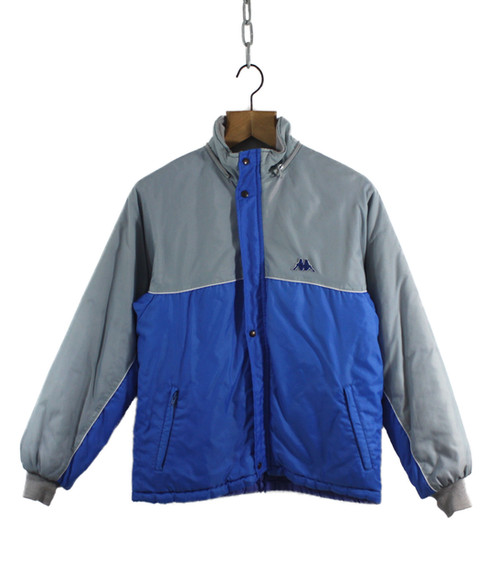 c56fef99 1984 Grey and Blue USA Olympic Team Kappa Jacket (Medium)