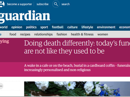 Doing Death Differently in The Guardian