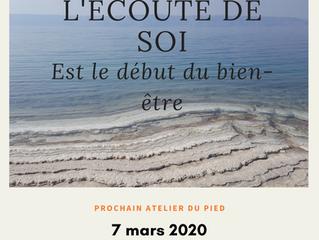 La réflexologie pour soi - 7 mars 2020