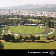 Hagley Oval lights