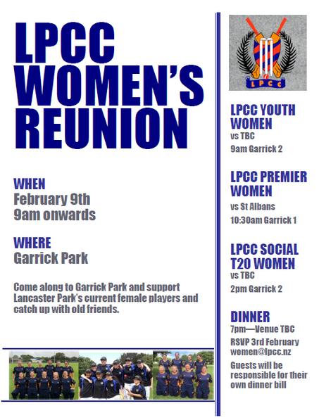 LPCC Women's Reunion