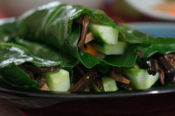 Wrapped Collards