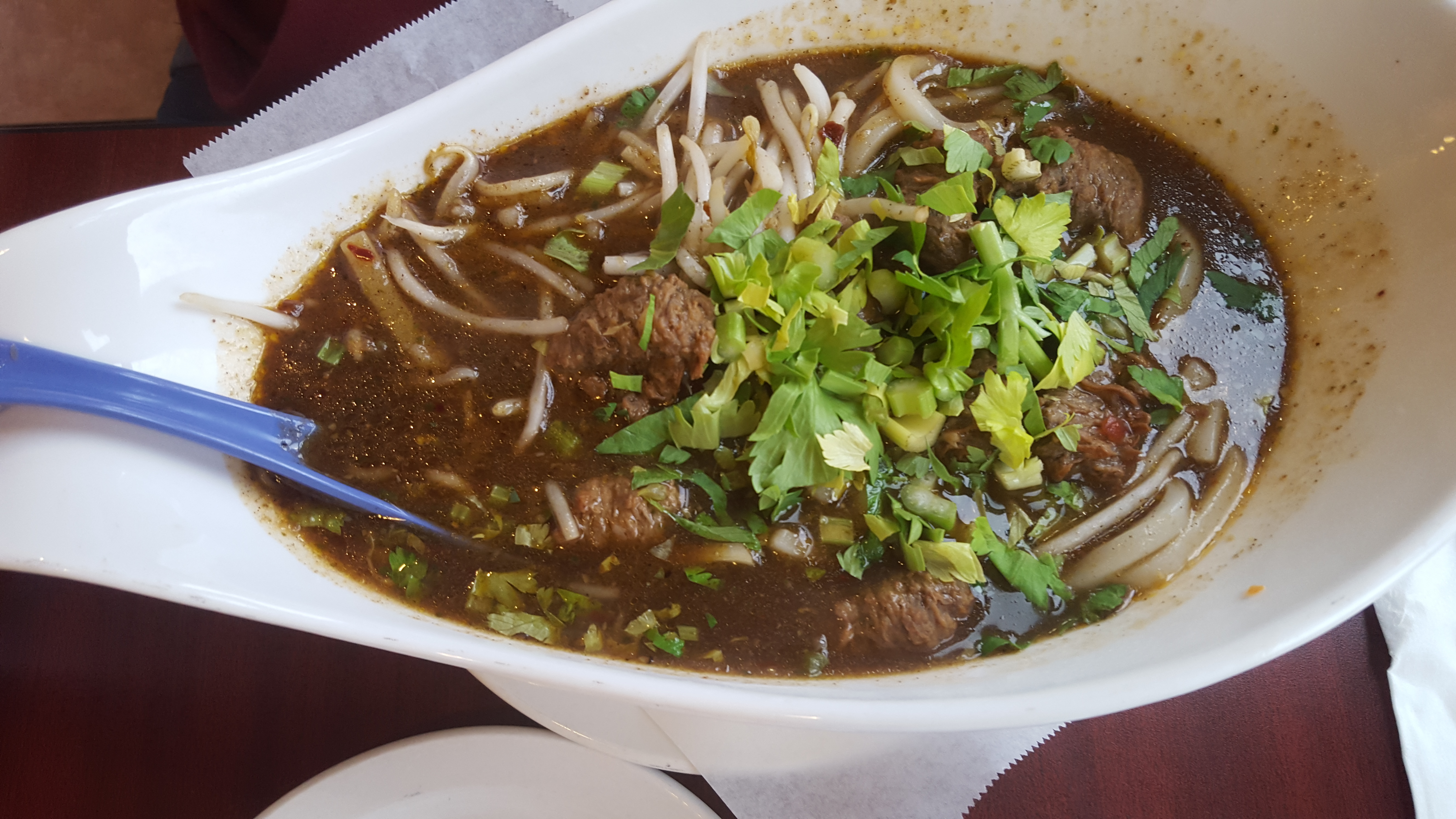 Beef Soup with Udon