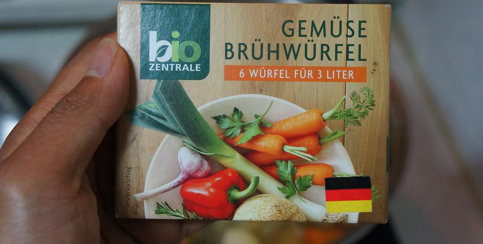 vegetable buillion (cubes)