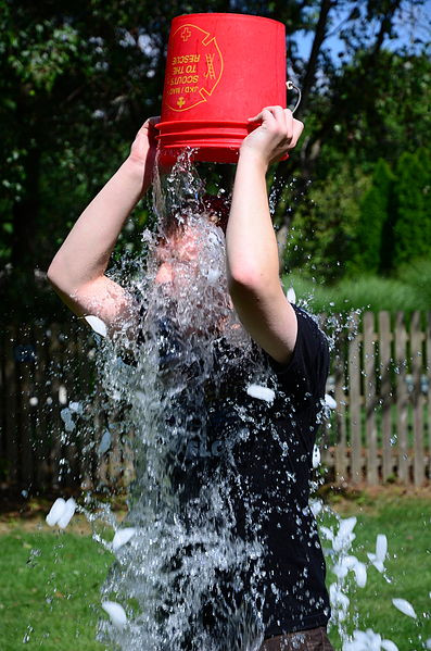By slgckgc (Doing the ALS Ice Bucket Challenge) [CC BY 2.0 (http://creativecommons.org/licenses/by/2.0)], via Wikimedia Commons