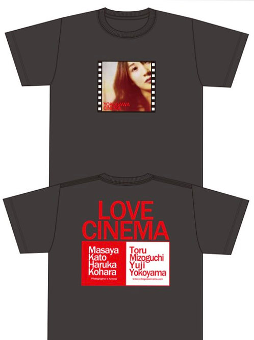 「LOVE CINEMA」Tシャツ Lサイズ