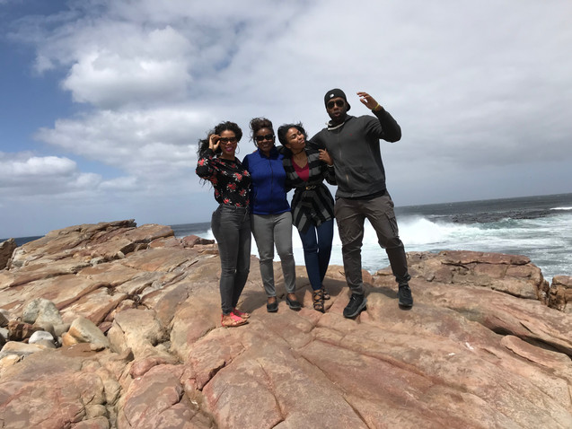 Family at Cape Point