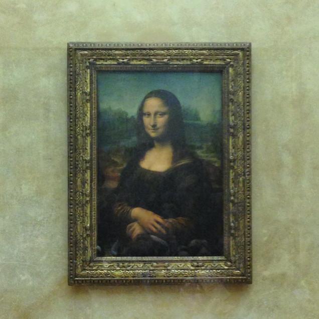 Mona Lisa in Paris, France