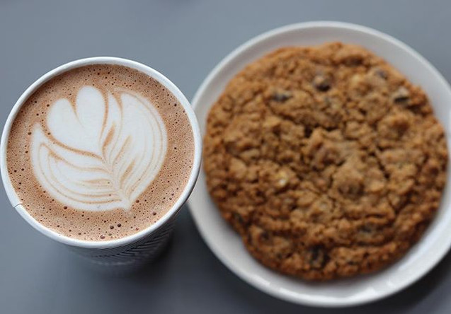 oatmeal, chocolate chip, walnut cookie..