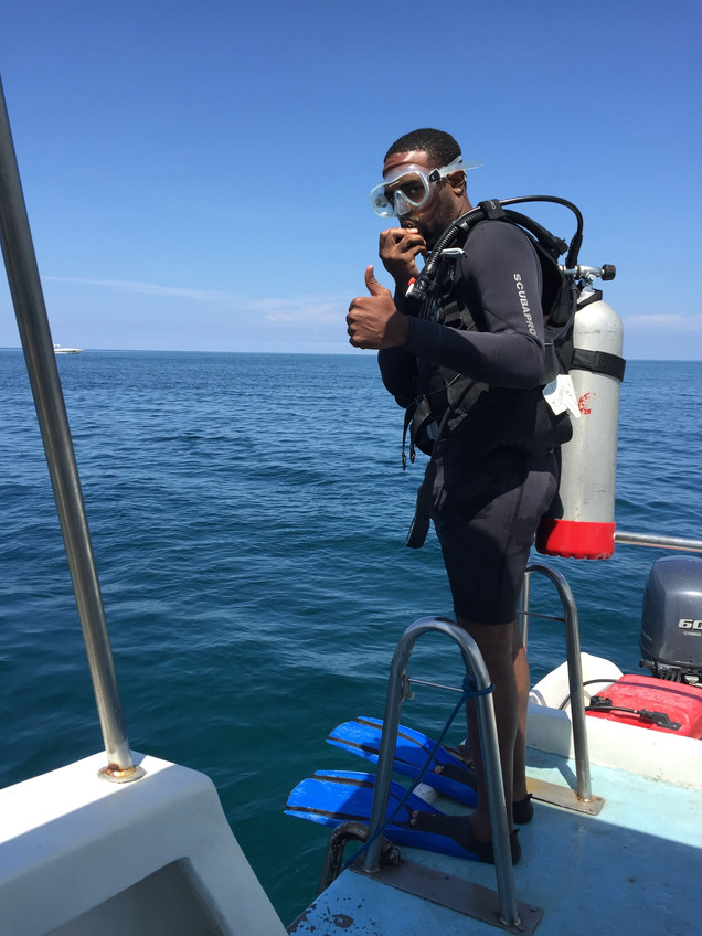 Diving in Negril